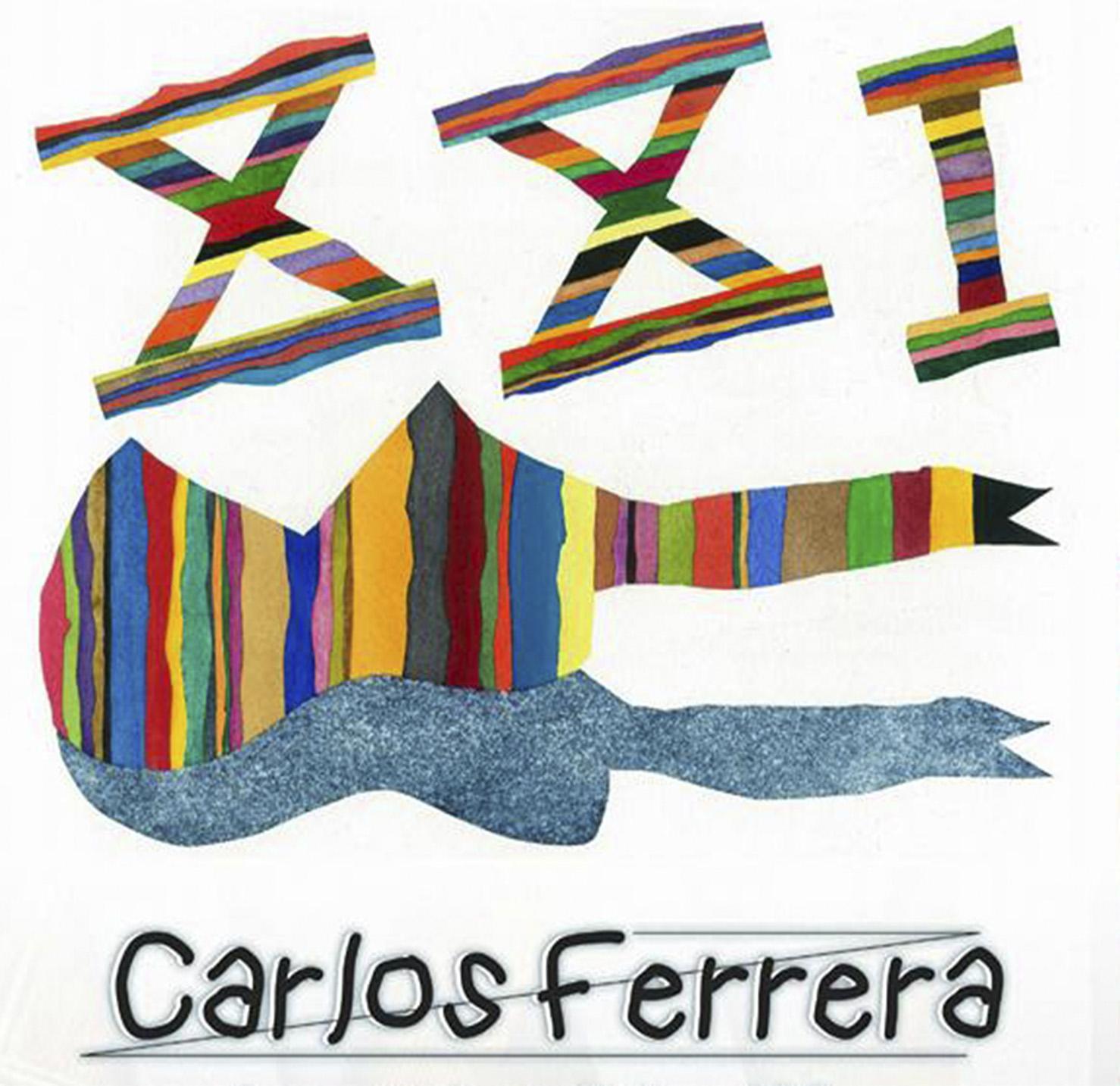Imagen de la Portada del Disco XXI de Carlos Ferrera